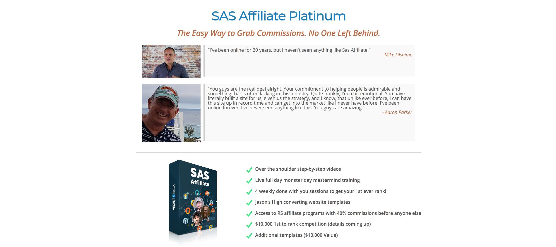 UmbrellaRS - SAS Affiliate Platinum