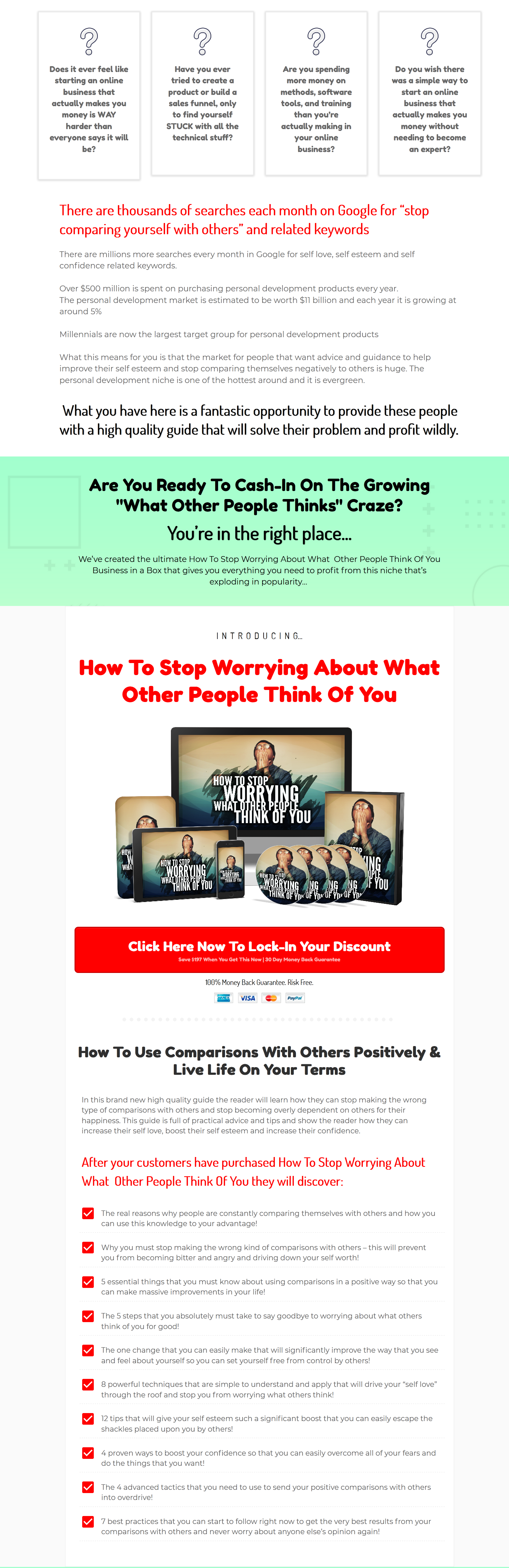 How to Stop Worrying What People Think About You