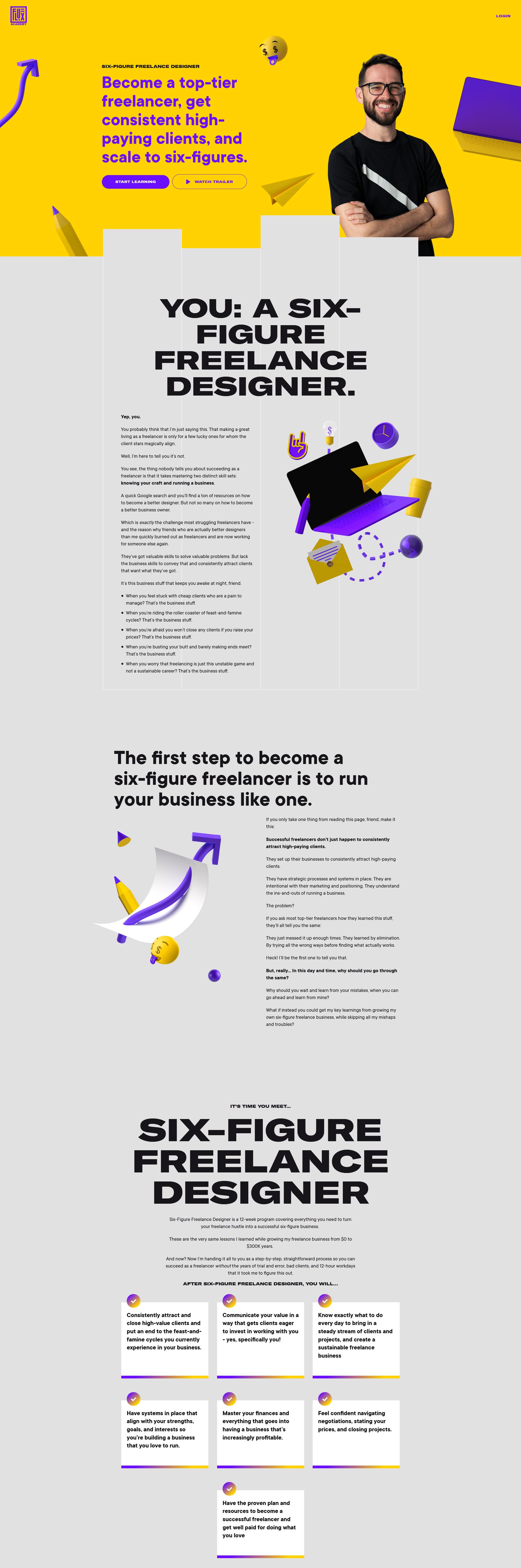 Flux Academy - The 6 Figure Freelance Designer