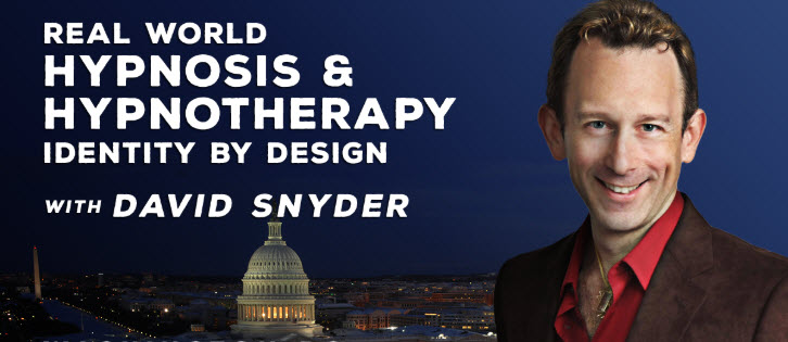 David Snyder - Real World Hypnosis - Identity By Design 2020 - Live Event Ticket
