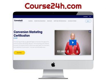 Conversion Marketing Certification by Convertedu