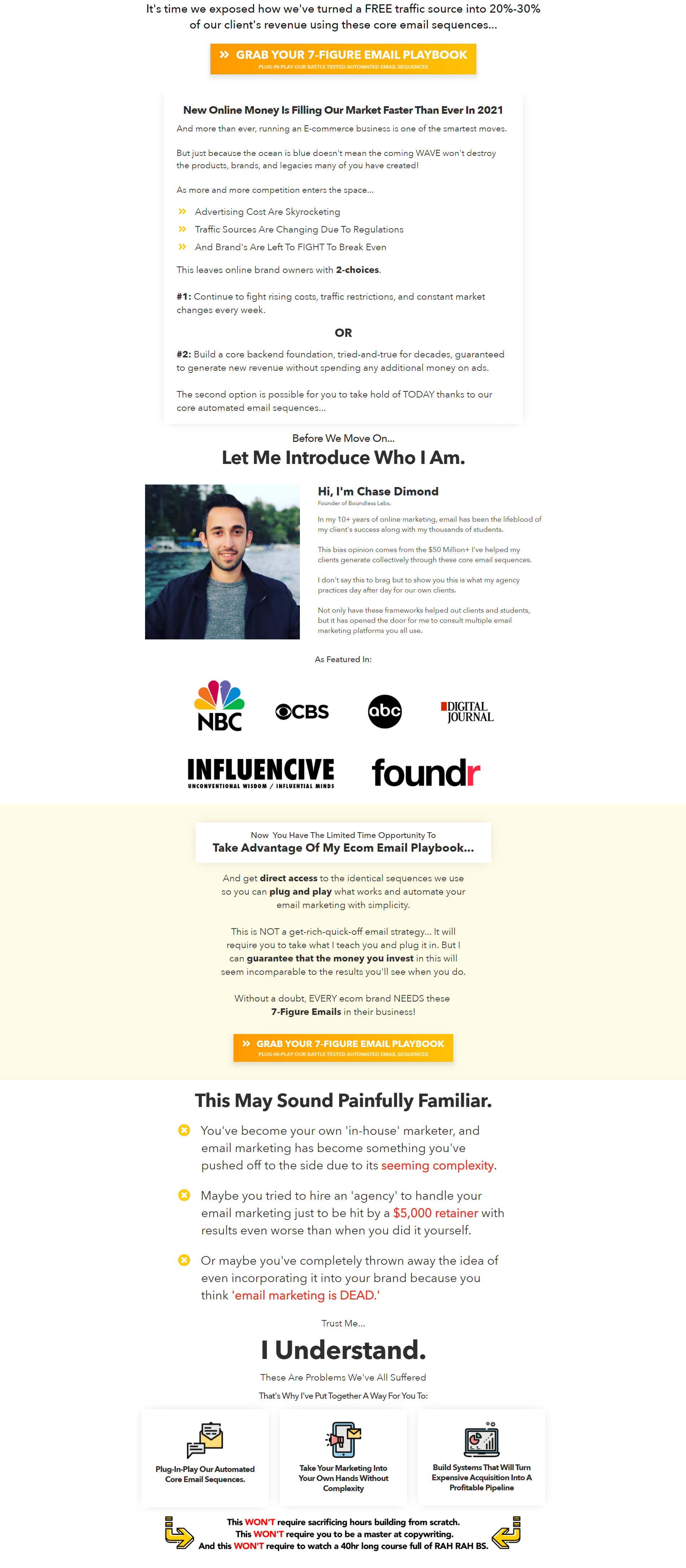 Chase Dimond – 7-Figure Email Playbook
