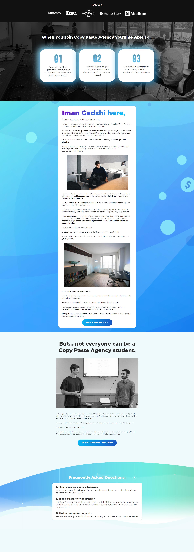 Iman Gadzhi - Copy Paste Agency 2021